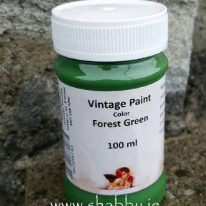 Vintage Chalk Paint in Forest Green