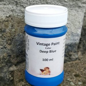 Vintage Chalk Paint in Deep Blue