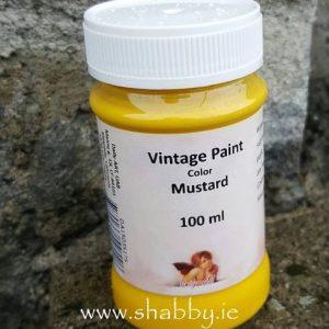 Vintage Chalk Paint in Mustard