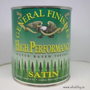 High Performance Top Coat Satin 473ml