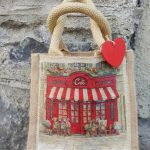 Create a bespoke Jute Bag with Decoupage