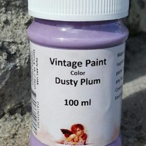 Vintage Chalk Paint in Dusty Plum