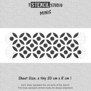 Reusable Stencil MiNiS - Chloe Dots Stencil