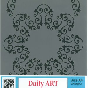 DOILY STENCIL repeat pattern