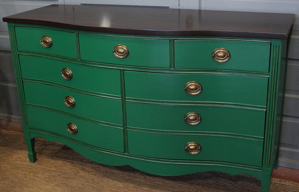 Scd General Finishes Milk Paint Emerald Green Coastal Blue