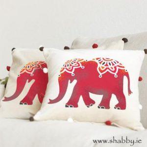 Indian Elephant Stencil