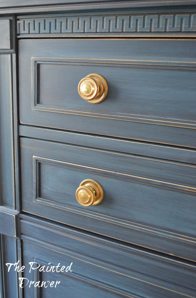 I Think This Is One Of My Absolute Favorite Coastal Blue Dresser Makeovers Cie At Primitive And Proper Knocked Out The Park