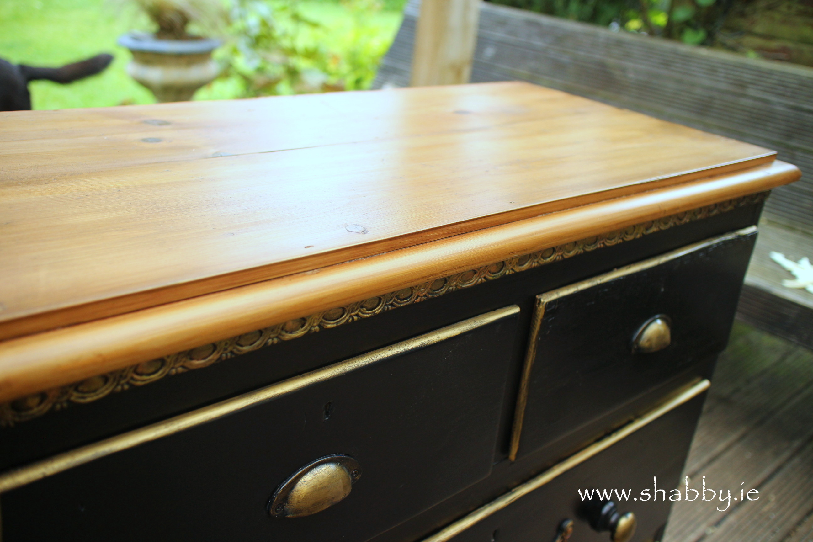 Removing WAX and preparing wood for Staining