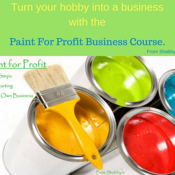 PAINT FOR PROFIT BUSINESS COURSE