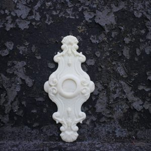 Ornate Drawer Pull Backplate