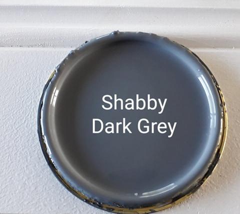 Shabby 'Dark Grey' Furniture Paint
