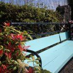 Iron & Wood Garden Bench Makeover