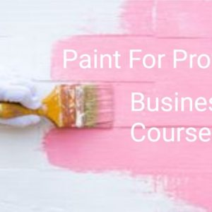 Paint For Profit Online Course