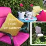 How To Paint Fabric Seat Cushions