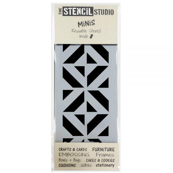 Stencil MiNis- Chevron Cube