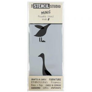 Stencil MiNis- Ducks