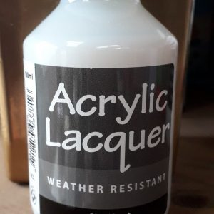 Acrylic Lacquer **NEW**