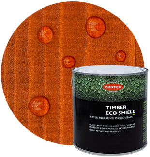 Timber Eco Shield Golden Brown