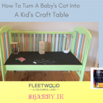 COT CRAFT TABLE... a tutorial
