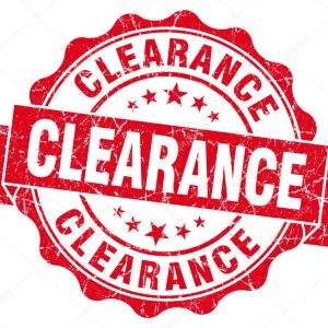 Clearance Stock Specials