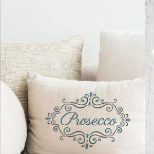 Prosecco Frame Stencil