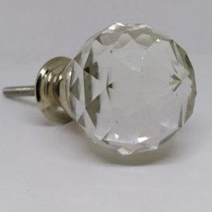 KOH1 Round Glass Knob